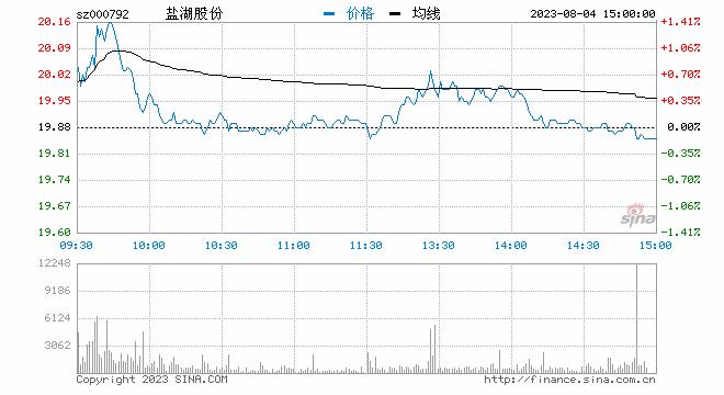 钾肥之王盐湖股份开启资产拍卖 破产重整能否自救?